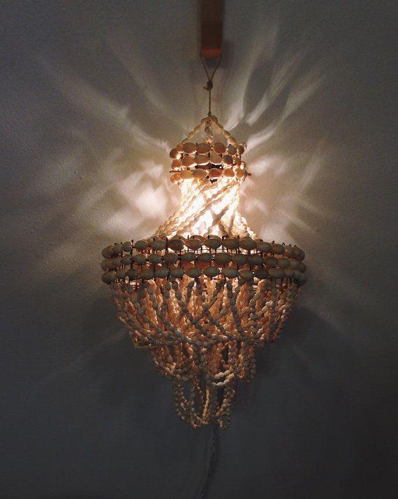 Petite shell light chandelier bedside light night light petite httpsetsylisting234500444petite aloadofball Image collections