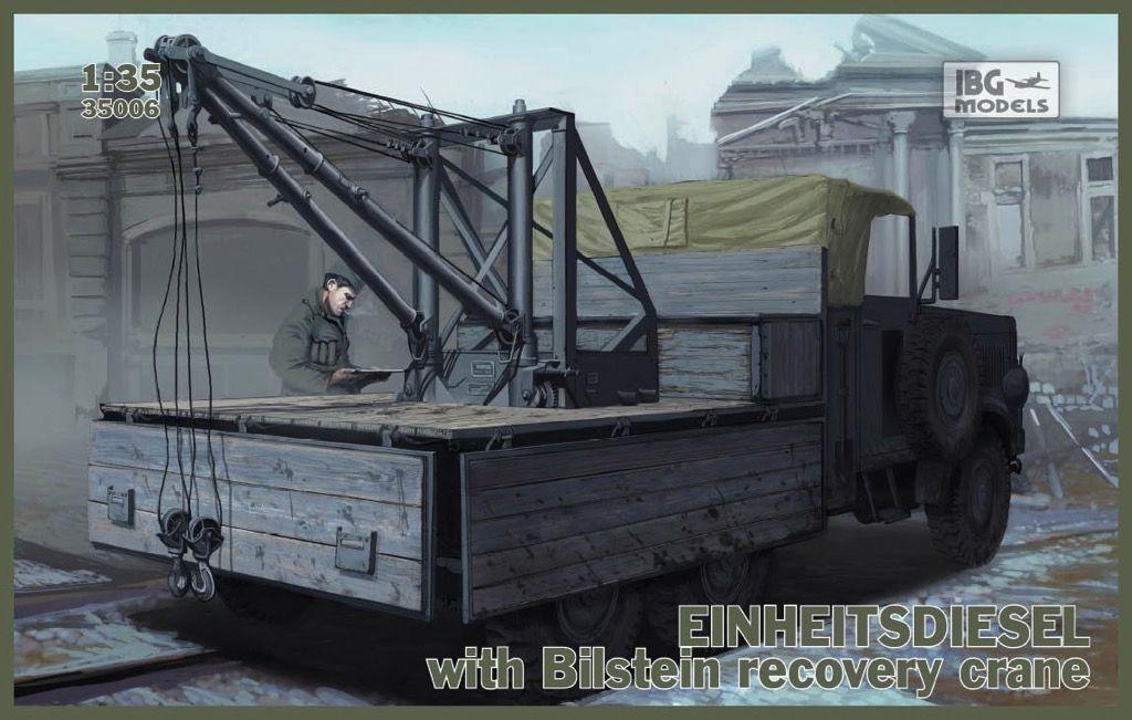 Einheitsdiesel with Bilstein Recovery Crane Cranes for