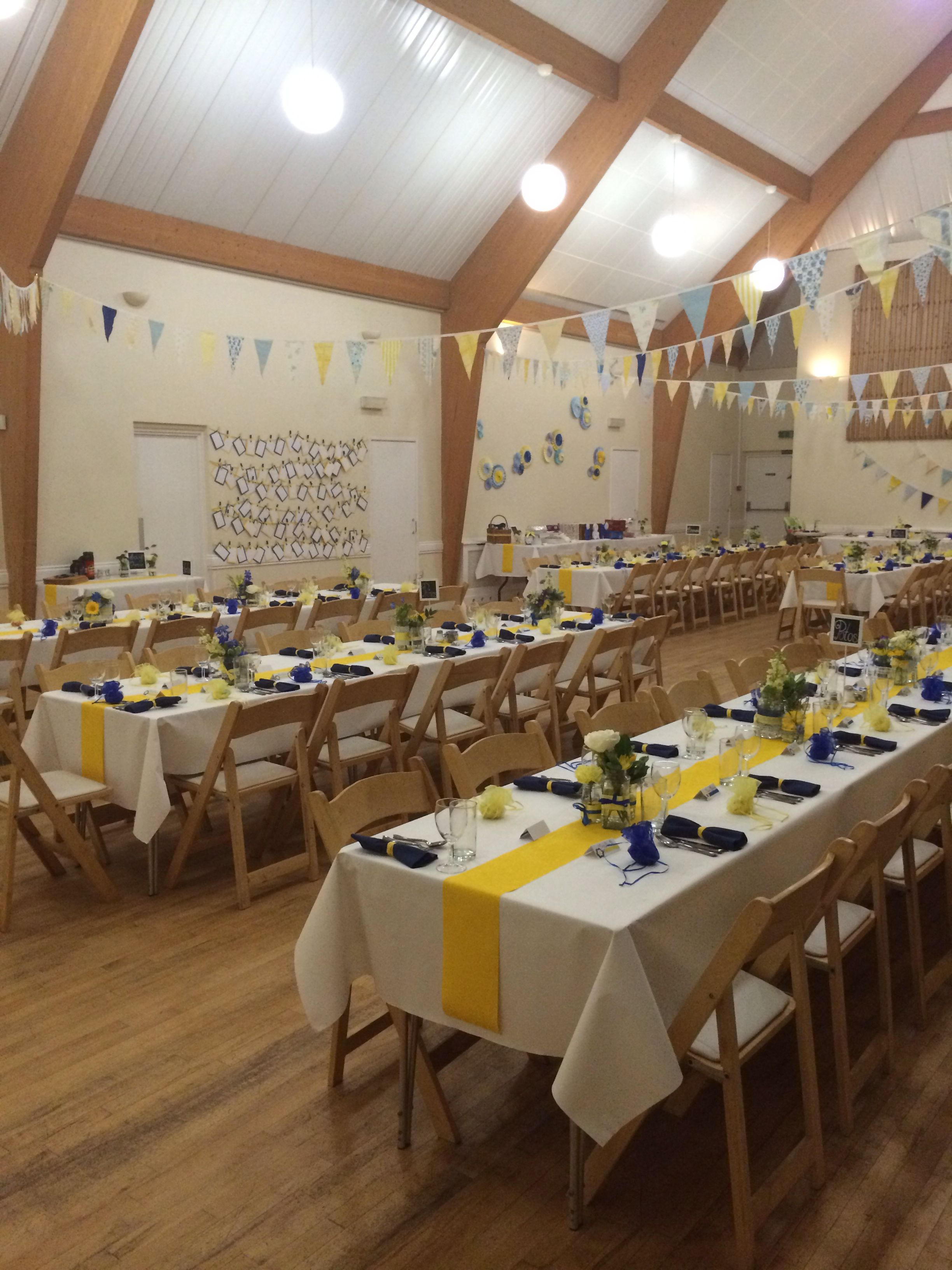 Ideas And Inspiration For Creating A Beautiful Village Hall Fete Styled Wedding Reception