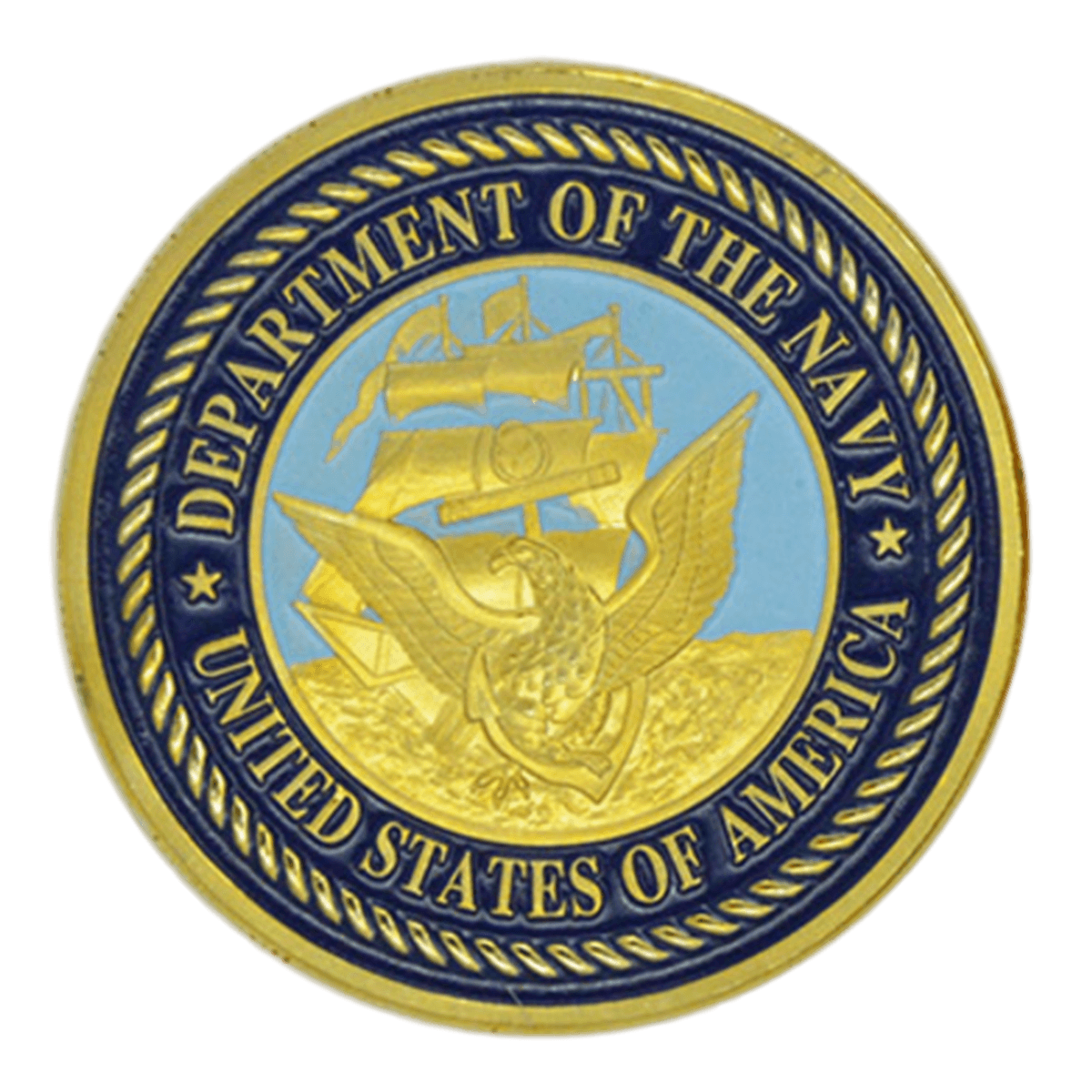 Department Of The Navy Military Challenge Coin Challenge Coins