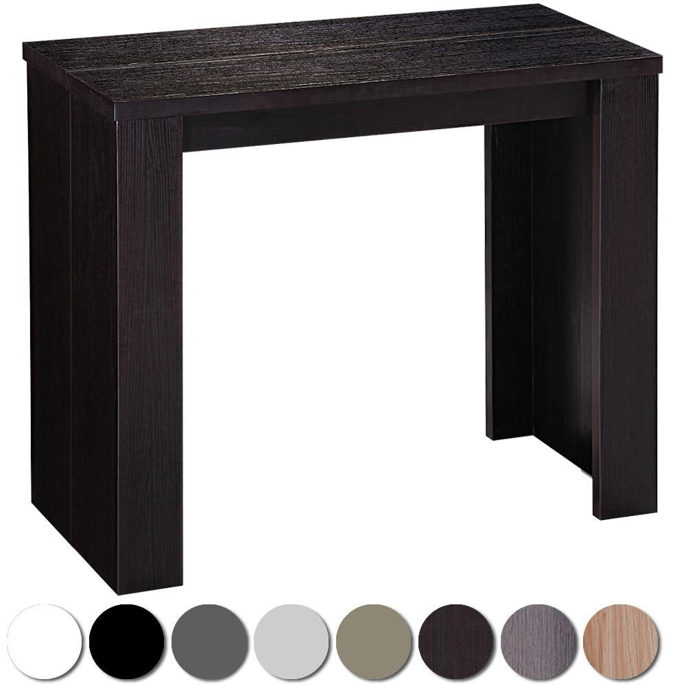 Table console extensible brookline bois wenge 453 349 for Table console extensible 10 personnes