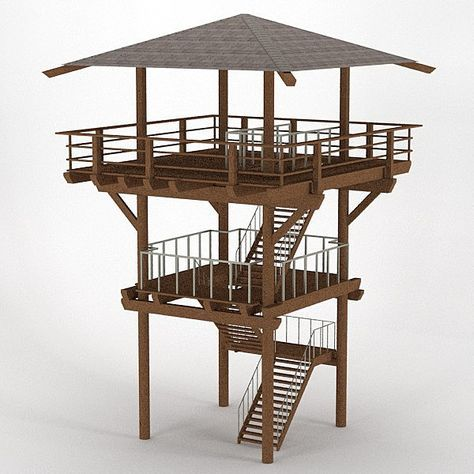 lookout tower - Google Search | Home plans | Pinterest | Tower ...