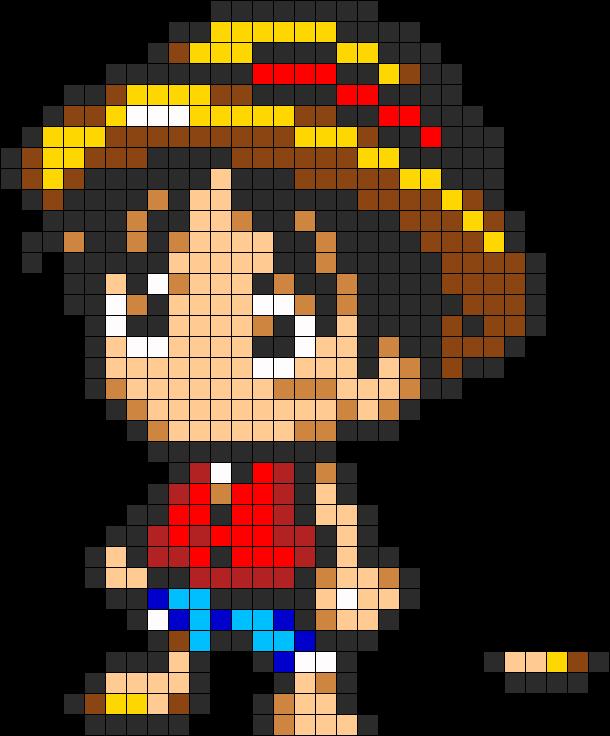 pixel art one piece