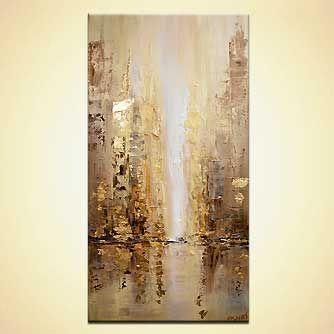 Giclee print - Golden City