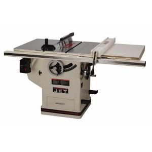 Jet 230 Volt Jjp 12 3 Hp 12 In Industrial Woodworking Planer And Jointer Combo With Closed Stand 708475 The Home Depot Table Saw Best Circular Saw Used Woodworking Tools