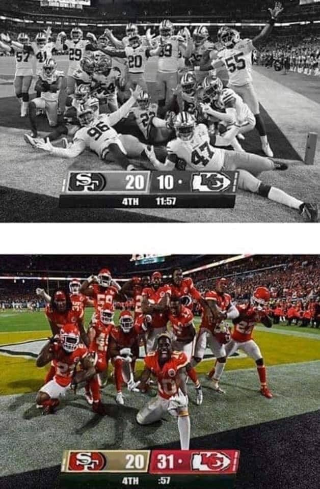 How Could We Ever Forget That Fourth Quarter In 2020 Kansas City Chiefs Football Nfl Funny Kc Chiefs Football