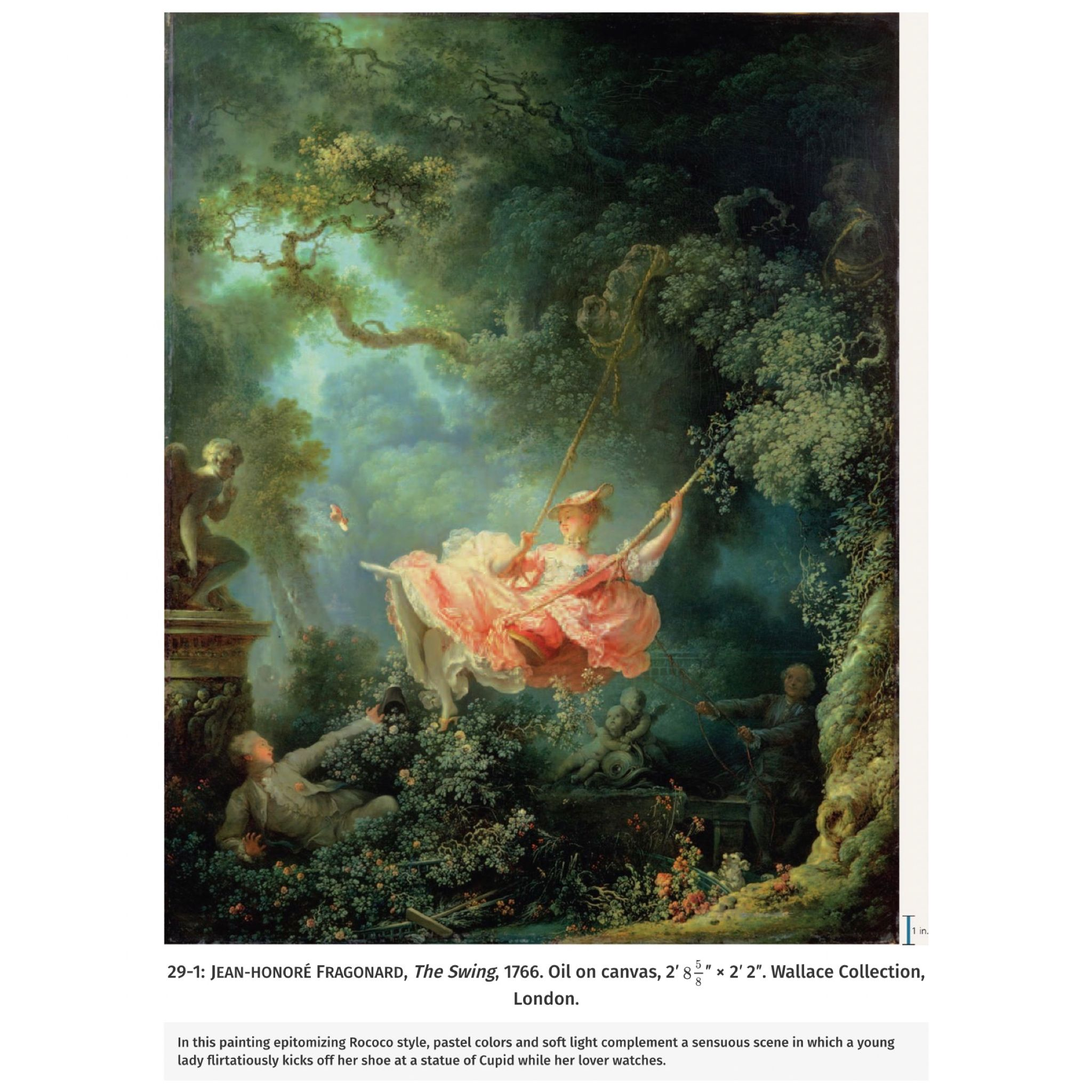 Fantasy Prints on Paper or Canvas The Swing by French Jean-Honoré Fragonard
