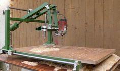 Kopírovací frézka | Wood carving duplicator