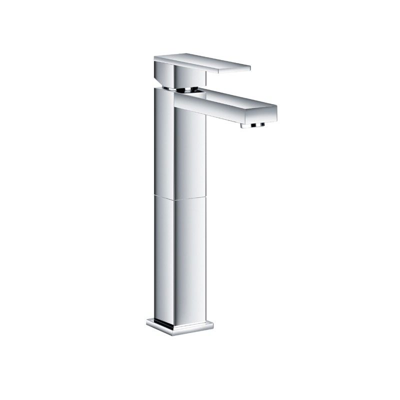 Aqua Decor Milan Tall Single Hole Mount Modern Bathroom Vanity ...