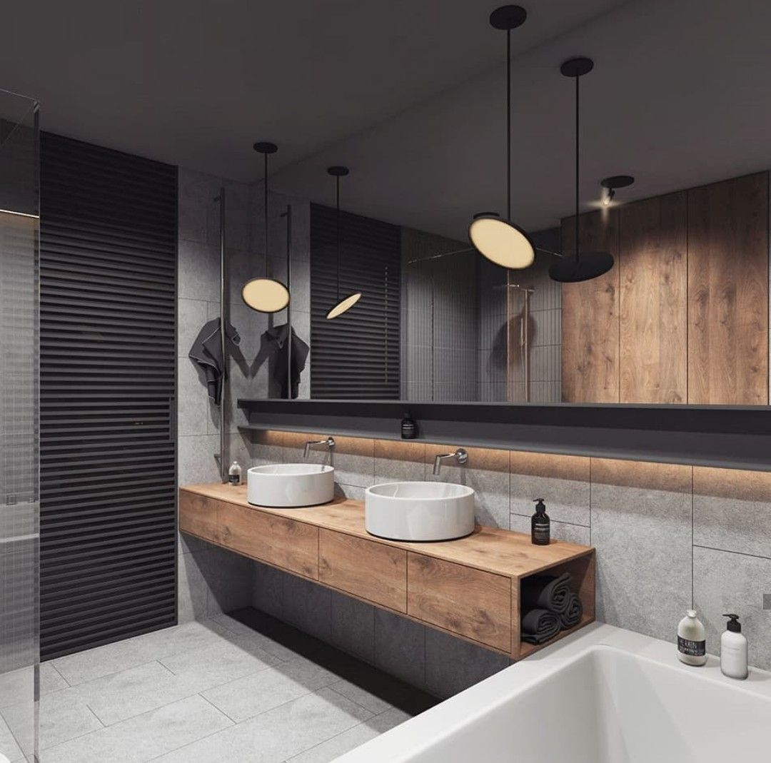 Nice Clean Lines - Mix Of Wood / Neutral Colors