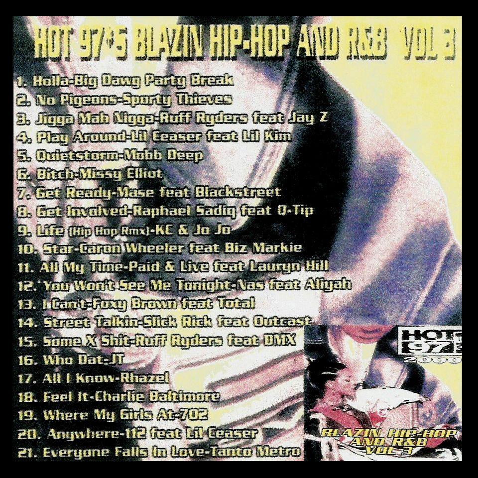 Blazin' Hip Hop & R&B 3 - MP3 Download - $3.00