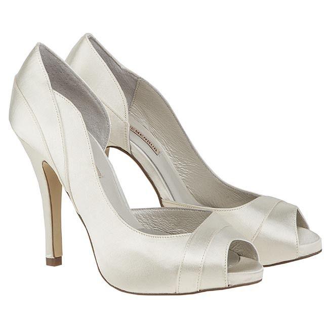 Weeding Heels Ivory Colour Menbur Wedding Shoes Heels Shoes
