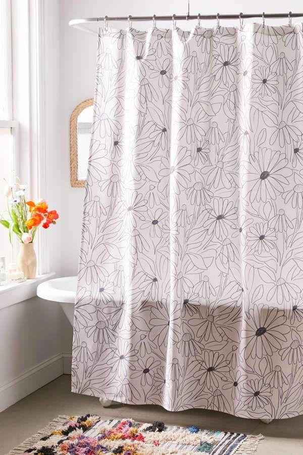 Alja Horvat For Deny Blooming Shower Curtain Curtains Shower Curtains With Rings