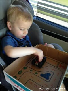 Small Family Big World: Traveling with Kids - Car Ride Tips and Games For Kids Ages 4 and 2
