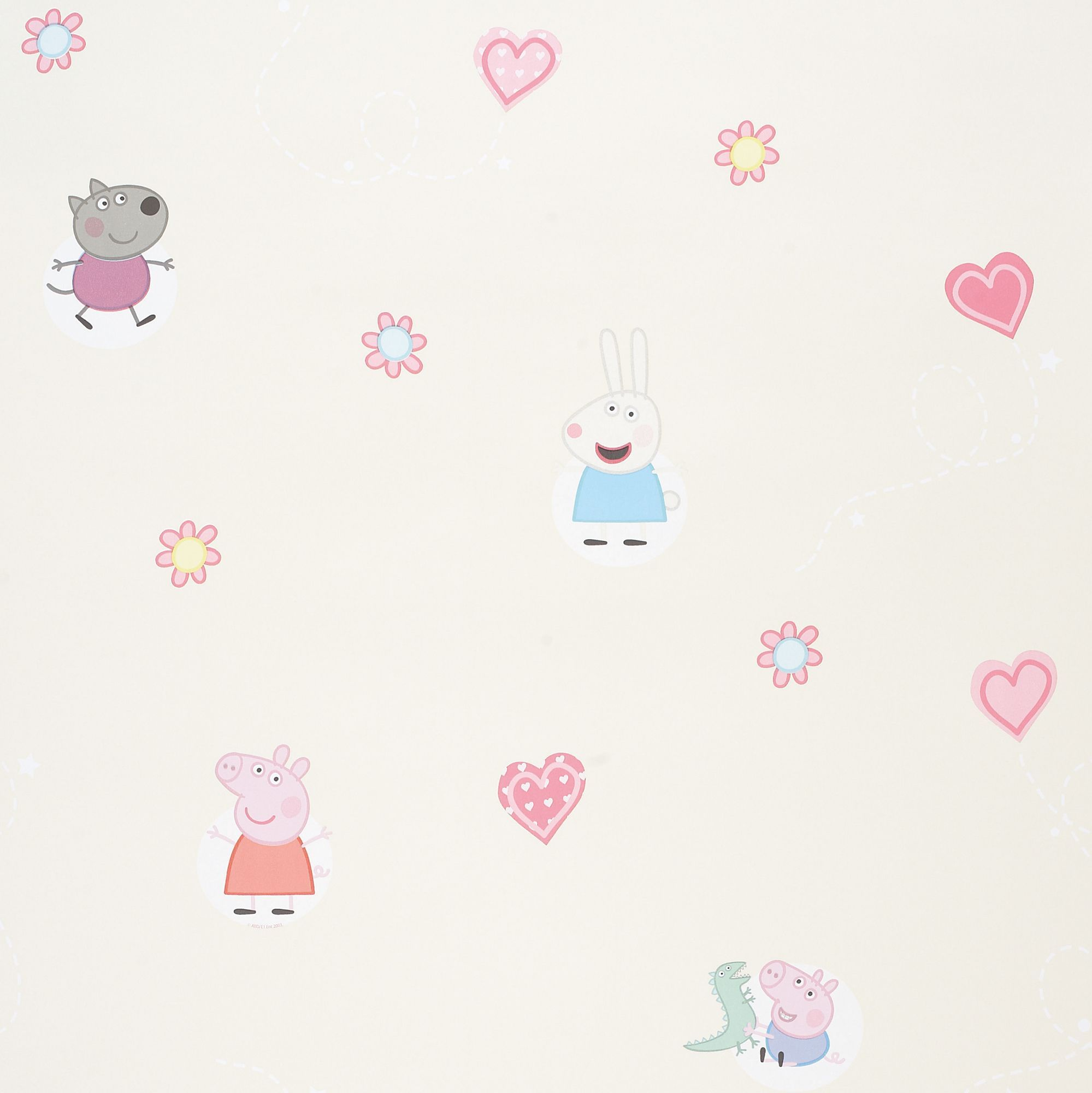 Peppa Pig Wallpaper Departments DIY at B&Q Peppa pig