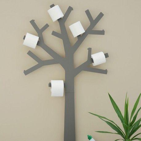 Arbre A Papier Wc Gris Par Presse Citron Un Porte Papier Toilette