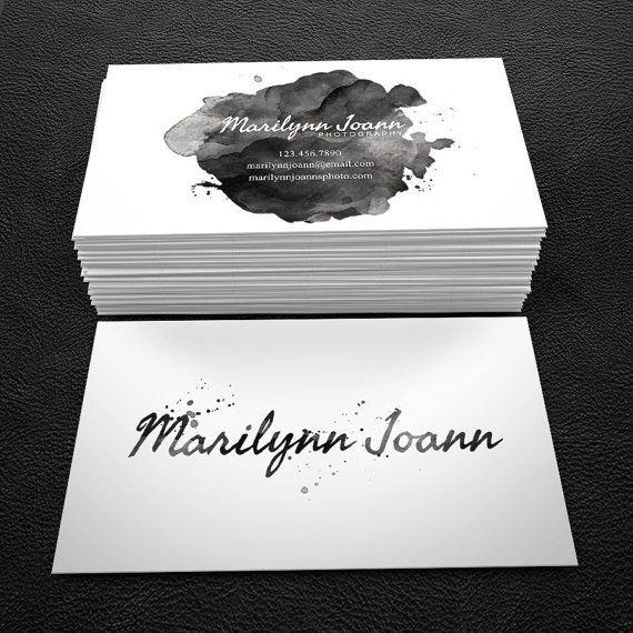 premade business card design print ready by brandileadesigns