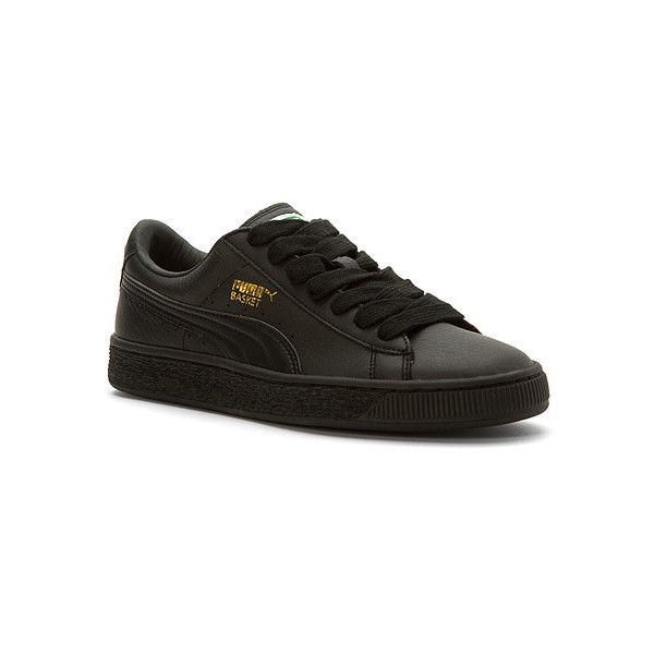 PUMA Basket Classic LFS Sneakers ( 70) ❤ liked on Polyvore featuring shoes ed1f08535