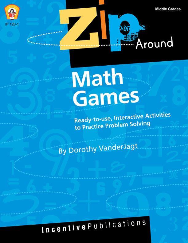 Zip-Around Games- Math