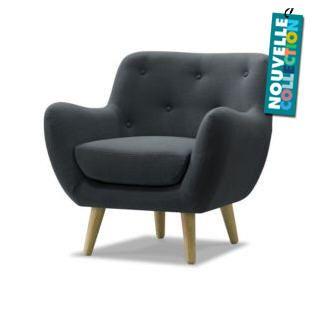 Fauteuil Alinea promo fauteuil le Fauteuil esprit seventies en