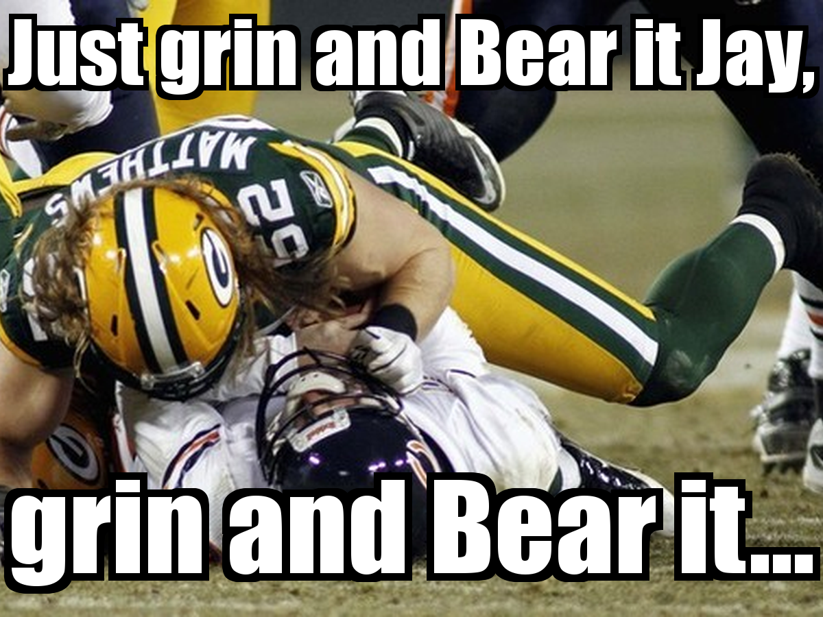 Anti Chicago Bears Memes For Pinterest Chicago Bears Memes Packers Funny Packers Vs Bears