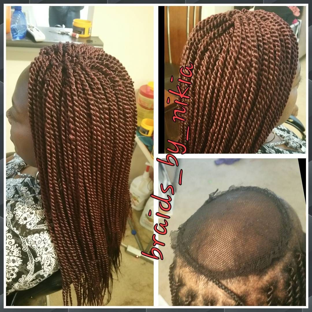 client w/severe alopecia wanted crochet braids. i sewed on weaving