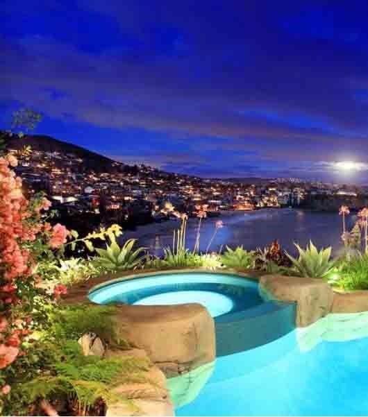 Night View Of Laguna Beach California Travel Pinterest Beach Destinations And Beautiful