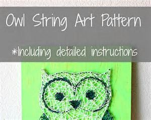 graphic about Free Printable String Art Patterns With Instructions titled Pin upon Cunning Programs