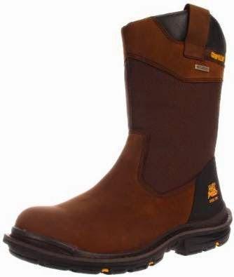 8d293828ac6 Caterpillar Men s Grist WP ST Work Boot Shoes Botas De Agua Hombre