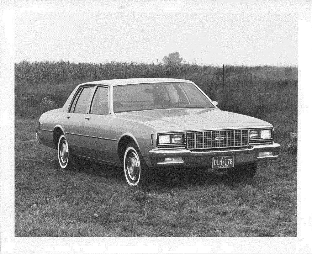 Kelebihan Chevrolet 1980 Spesifikasi