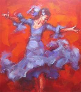 Flamenco dancer – Renata Domagalska
