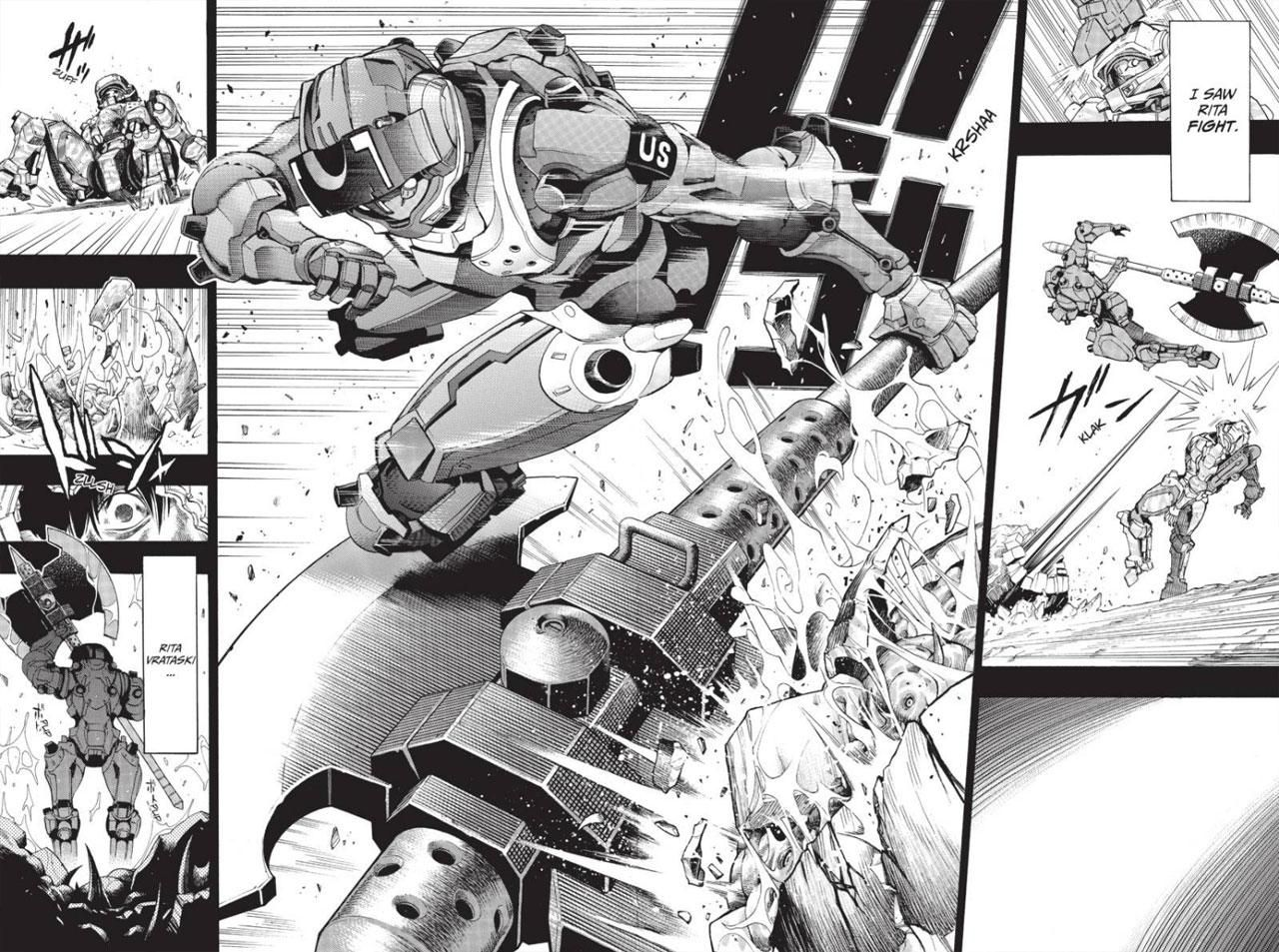 All You Need Is Kill Tom Cruise All You Need Is Manga
