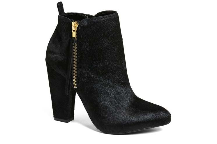 How to Wear Pony Hair Ankle Boots This Winter