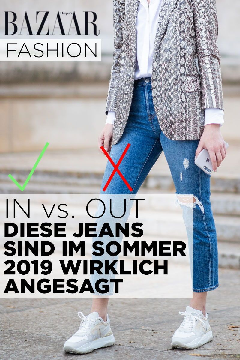 In vs. Out: Diese Jeans sind im Sommer 2019 Trend | Jeans
