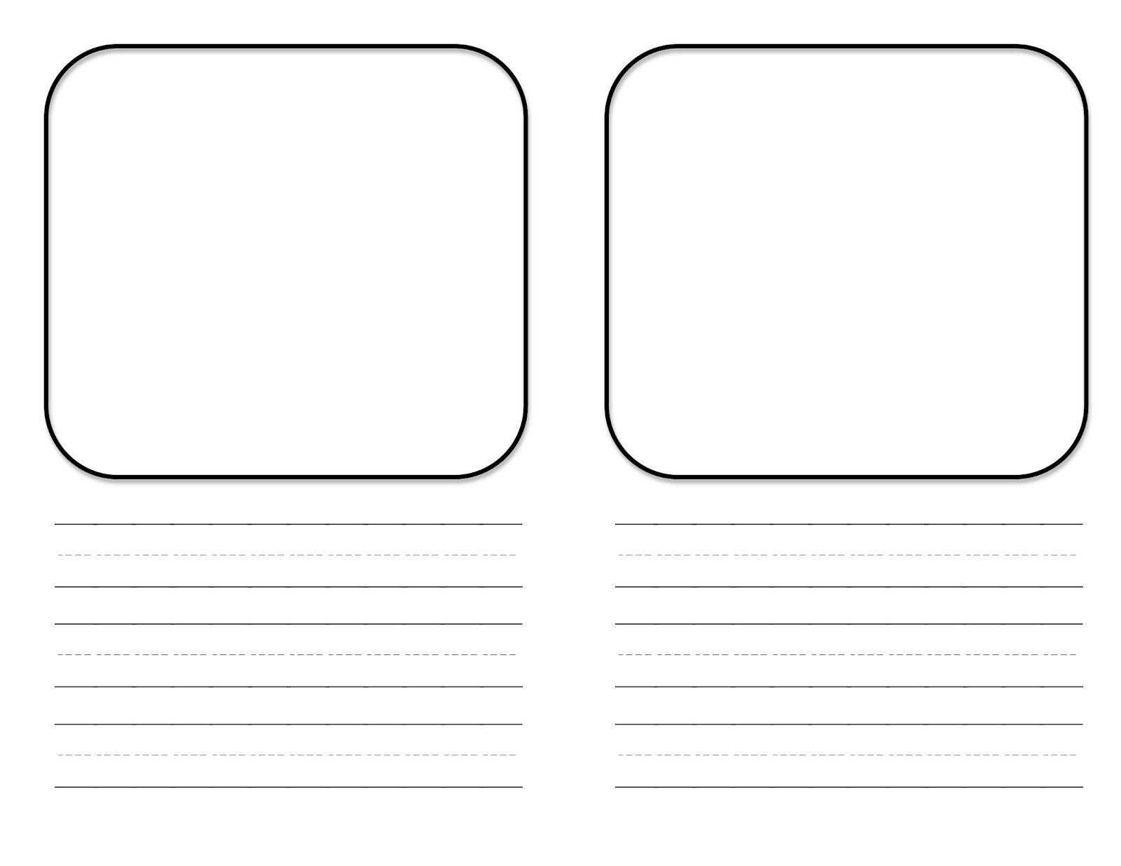 Teacher Idea Factory Mini Book Template