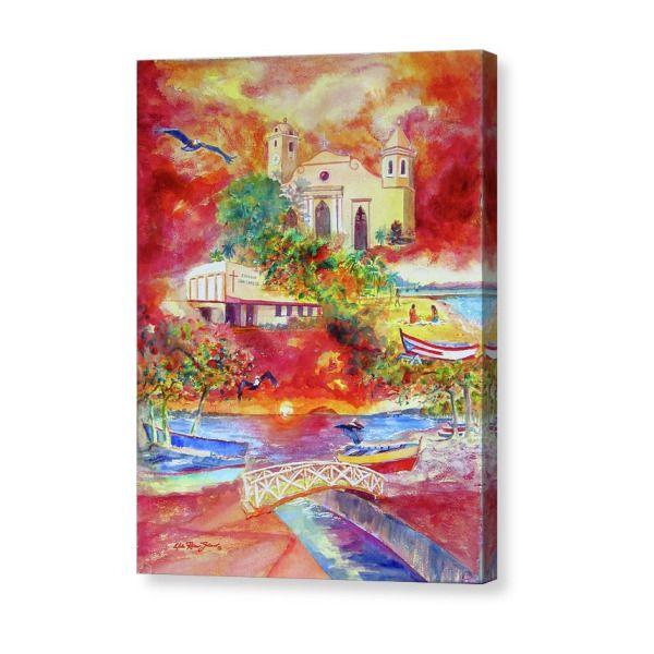 Tour Around Aguadilla Puerto Rico Canvas Print Canvas Art By Estela Robles Canvas Prints Stretched Canvas Prints Canvas Art