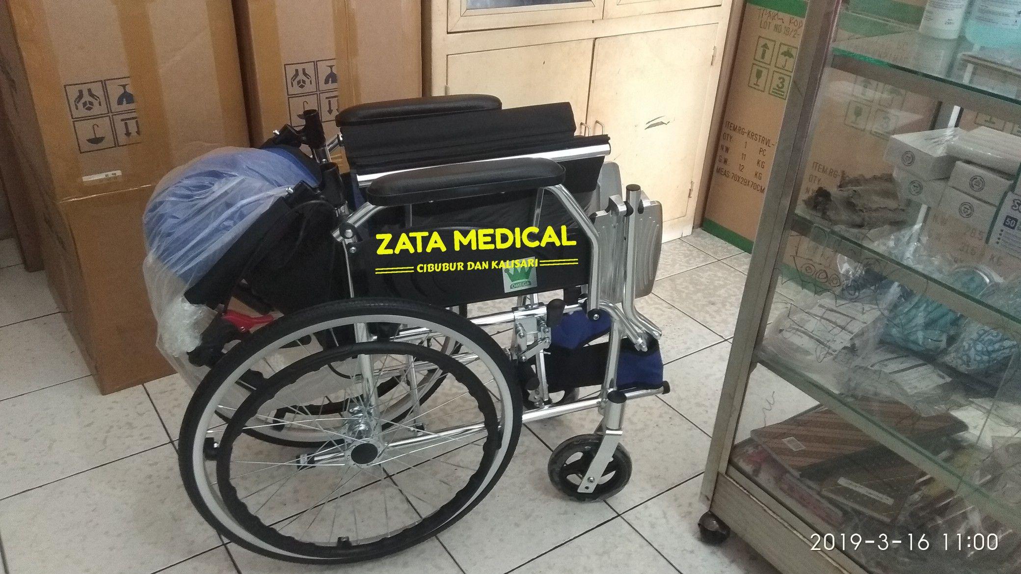 Kursi roda travel, kursi roda ringan, kursi roda standar