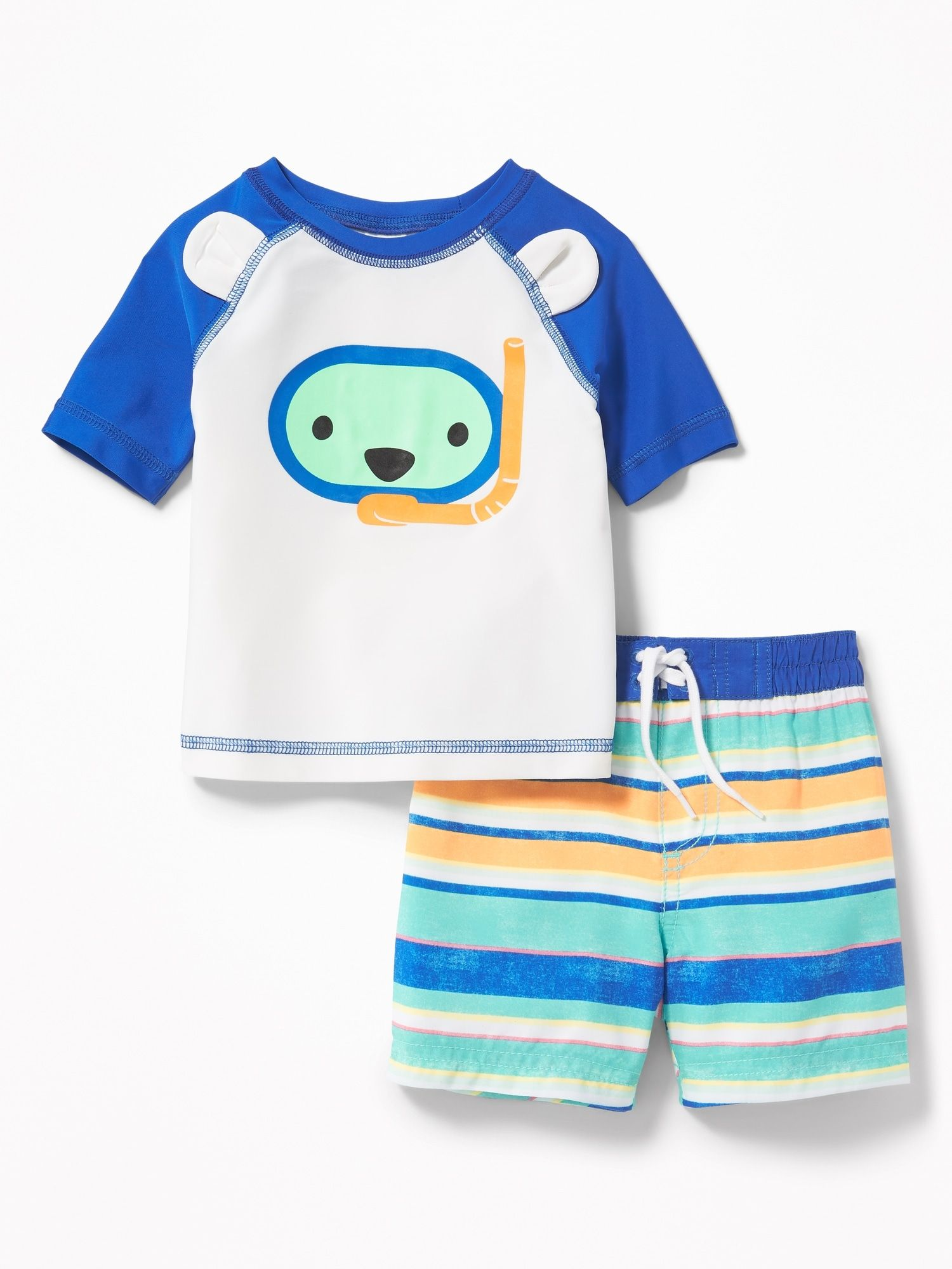 6e2fb52f5 product photo Swim Sets, Rash Guard, Hanging Dryer, Old Navy, Boy Outfits