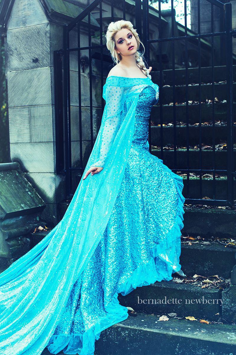 Elsa From Frozen Bernadette Newberry Photography Designer Threads Model Ai Tenshi Misha Http Www Facebook Aitenshimishaofficial