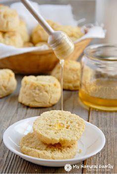 """""""Buttermilk"""" Biscuits Recipe #paleo #grainfree #glutenfree"""
