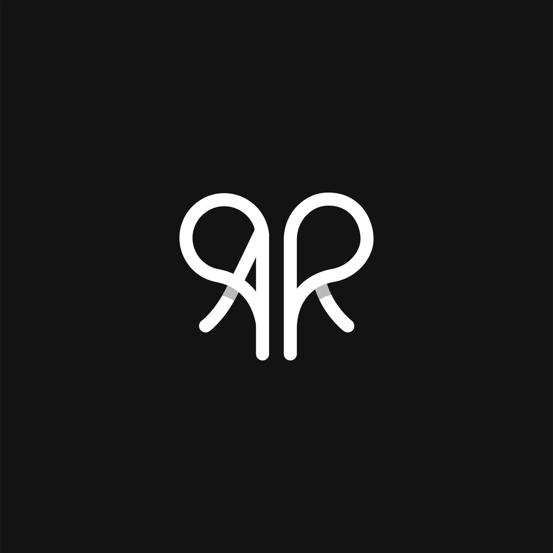 Heart Logo Ar Logo Monogram Logo Monogram Logo Ar Logo Logo Design Love