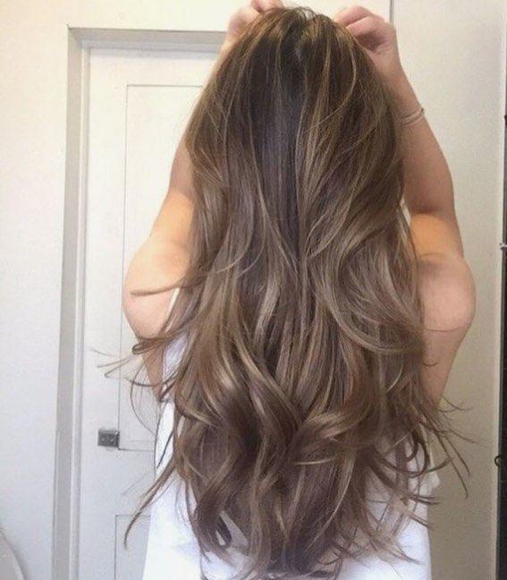 Frisuren kuhles braun