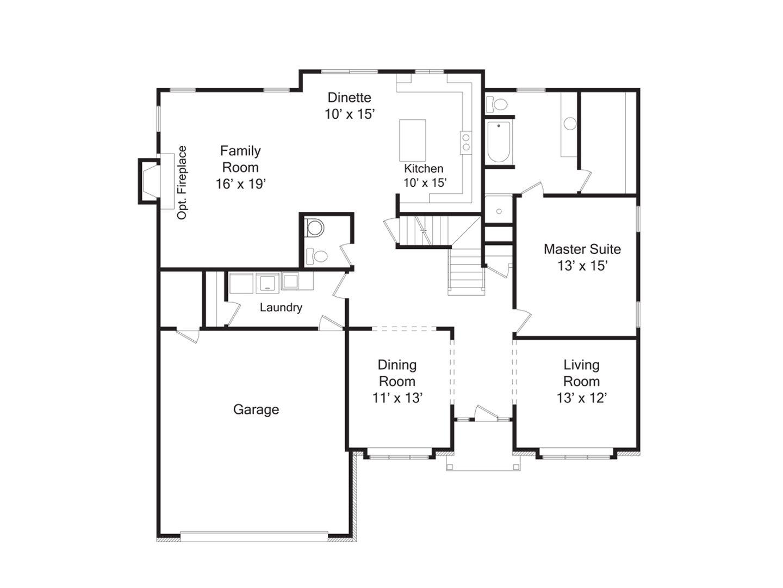 Best Floor Plan Of Modern Family House Modern House Plan Modern House Plan Living Room Floor Plans Floor Plans Modern Family House