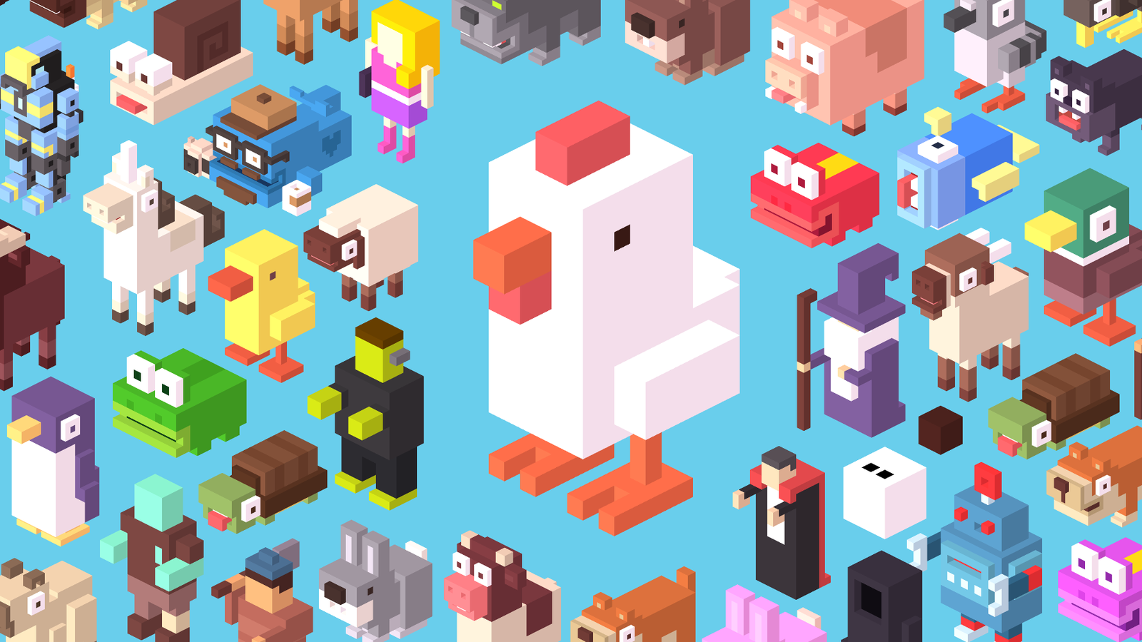 Crossy Road, the history of the popular 8bit style game