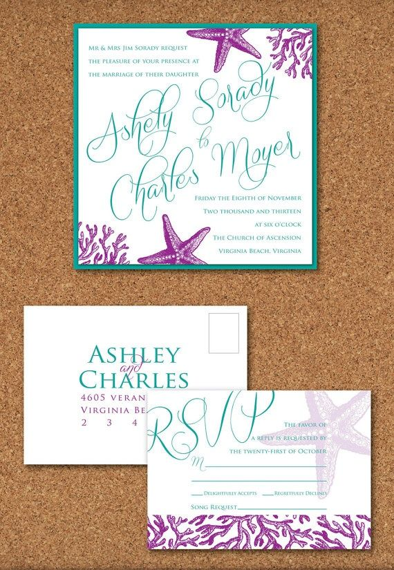 Under The Sea Wedding Invitations Is Best Collection Ideas You Must Choose For Invitation Template