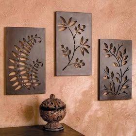 Pinterestca Adorno Para La Casa Facil De Hacer In 2020 Diy Wall Art Wooden Art Wood Art
