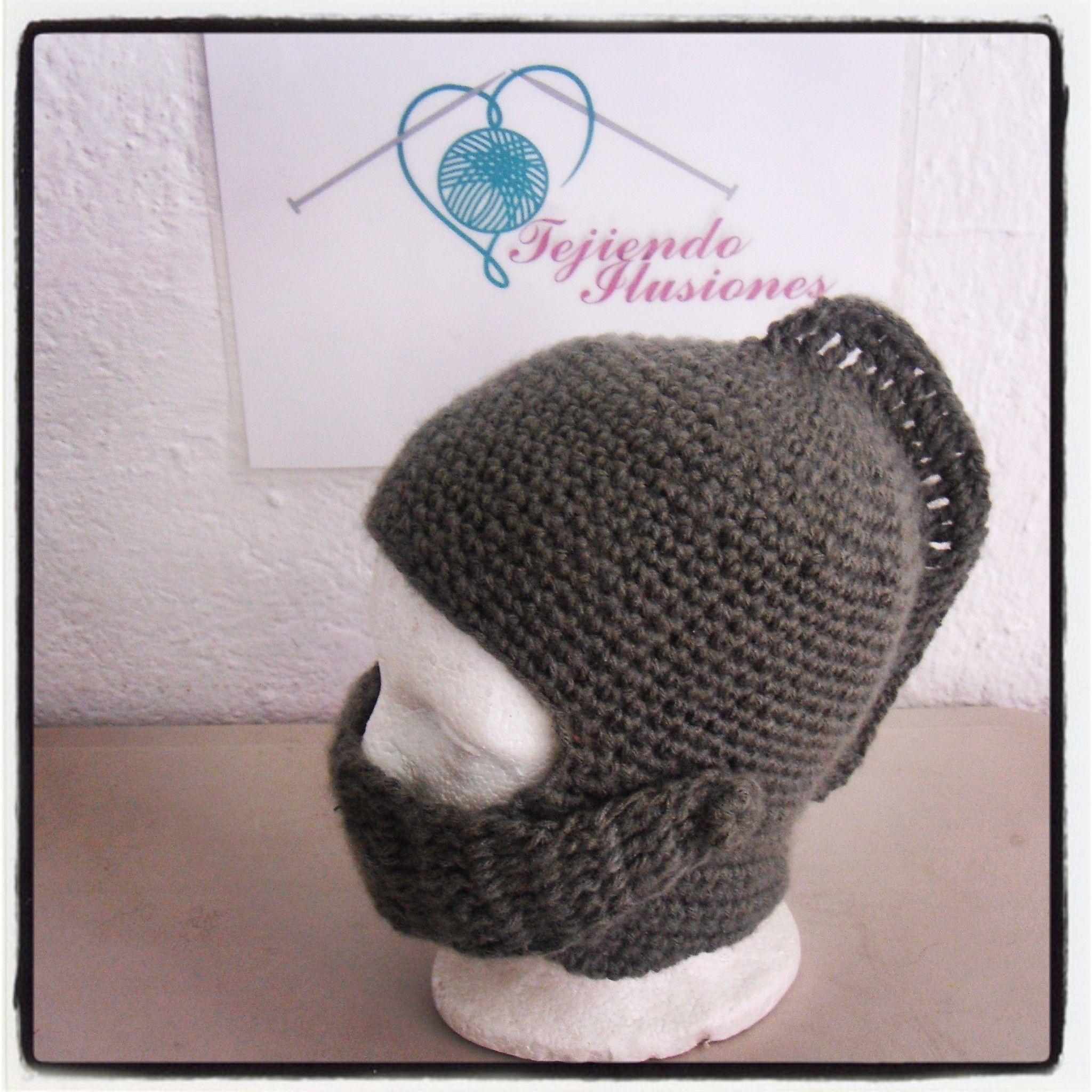 Modelo N° 3:Casco Espartano, crochet para ellos un divertido casco ...