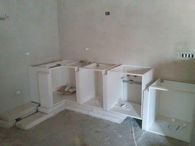 L 39 eco del mondo costruire una cucina in muratura con - Costruire cucina in muratura ...