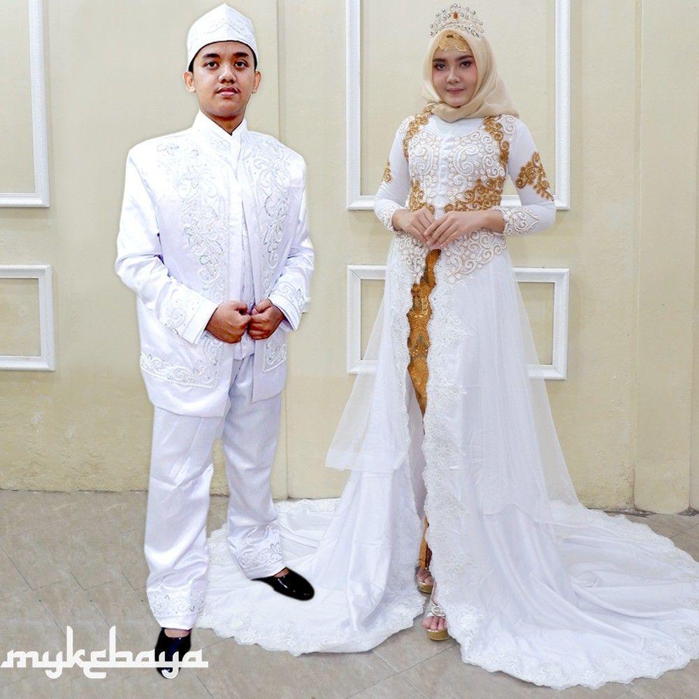 Model Baju Gamis Untuk Akad Nikah  Pernikahan, Model, Gaun
