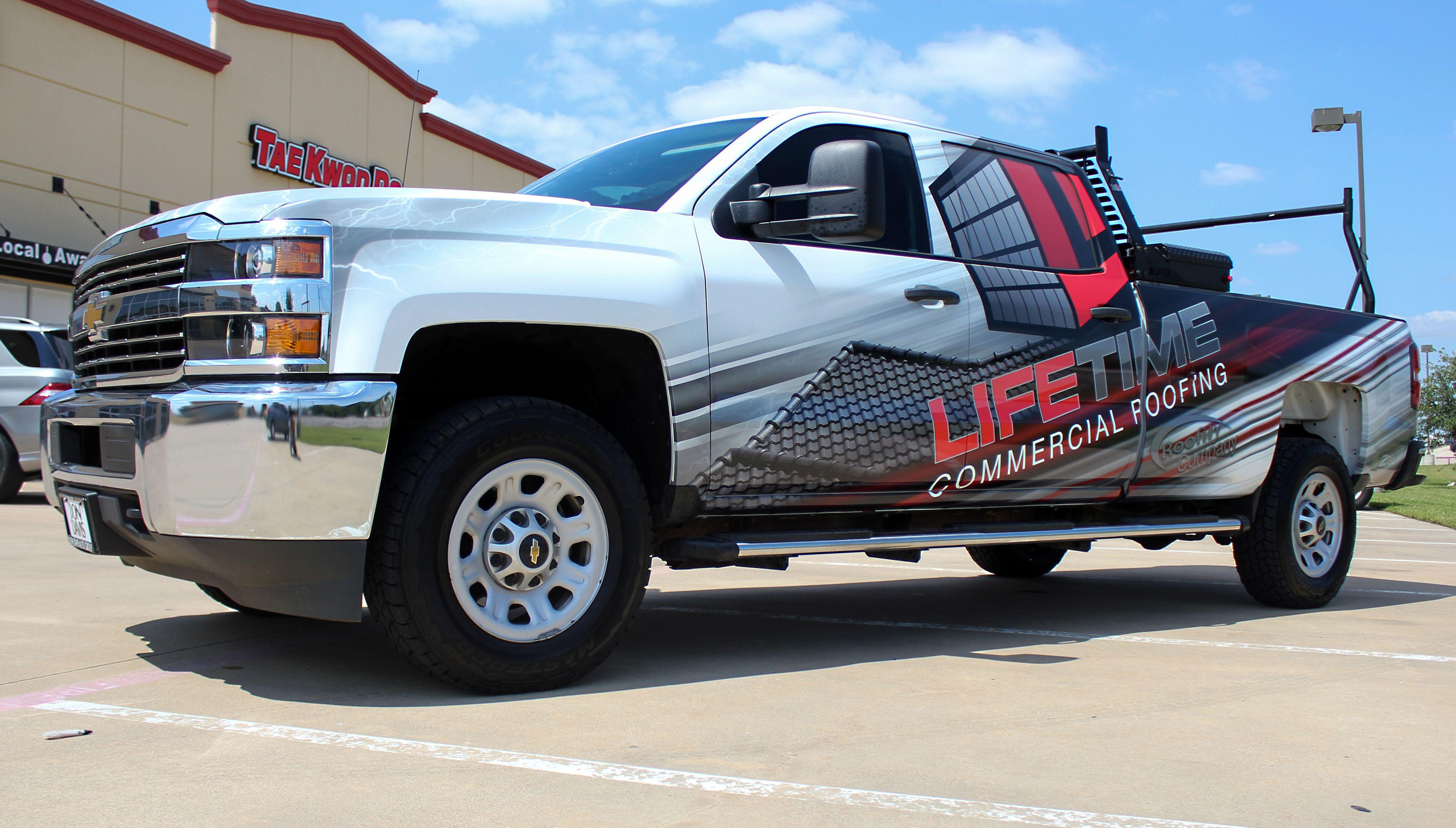 Roofing Truck Ideas Monster Trucks Car Wrap Trucks